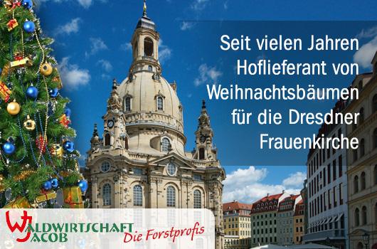 Wir sind Hoflieferant der Frauenkirche Dresden.